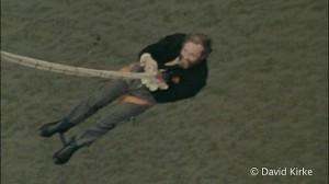 David Kirk bungee jump